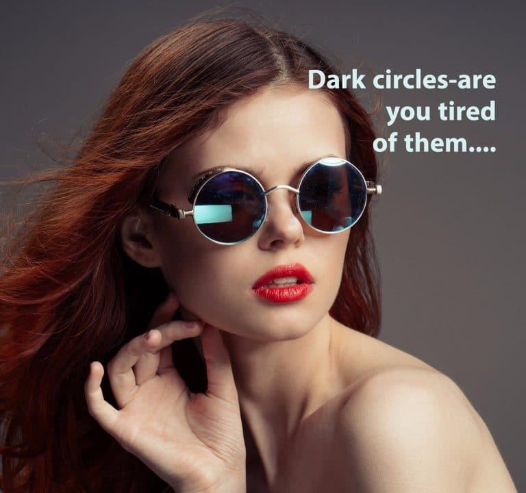 Dark circles under your eyes auckland