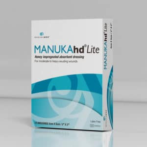 Manuka honey medical grade wound care ManukaHDlite